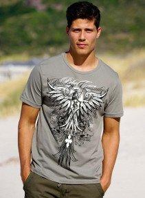 H-KA-Shirt,Front-Print grau L 003 - 1 - Ronja.ch