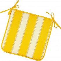 Stuhl-Kissen Quadrat gelb 2St. - 1 - Ronja.ch