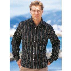 Langarm-Hemd, Knitter-Look