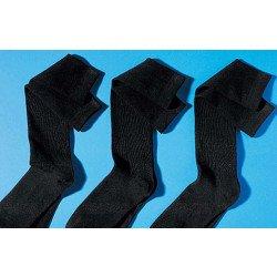 Knie-Socken Stretch-Qualität, 3 Stück