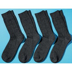 Business-Socken Jacquard-Dessin,  4 Stück