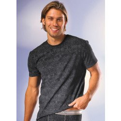 "Kurzarm-Shirt ""Marmor-Print"""