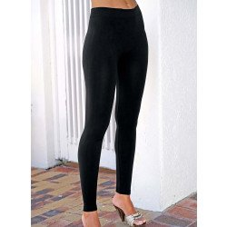 Leggings lange Form, schwarz
