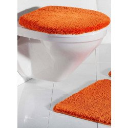 WC-Deckelbezug unifarbig,  47x50cm