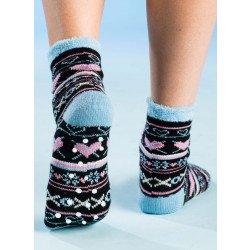 Haus-Socken kuschel weich, 3 Stück