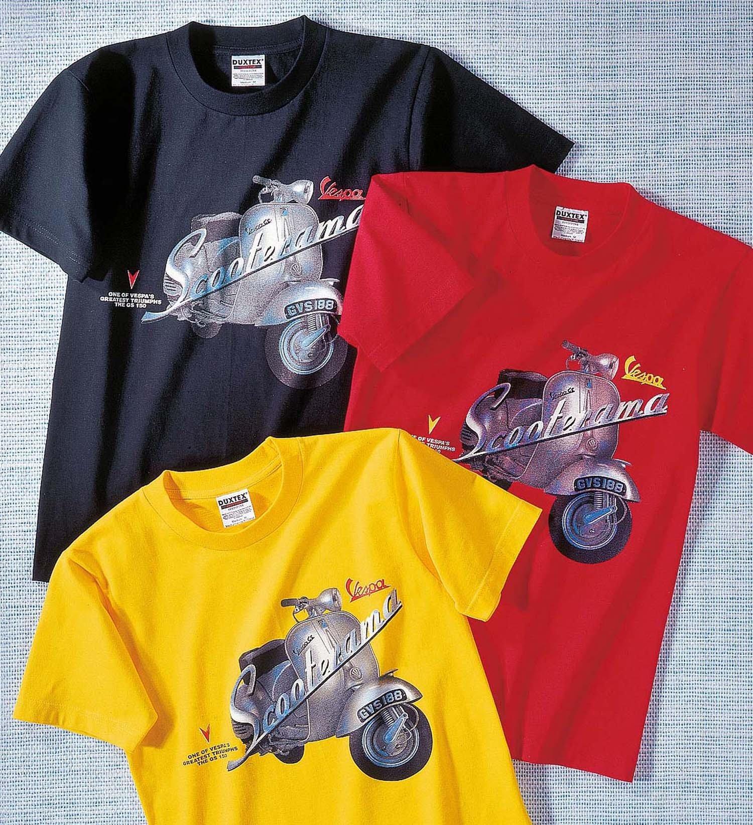 "K-KA-Shirt ""Vespa"" rot 128 023 - 1 - Ronja.ch"