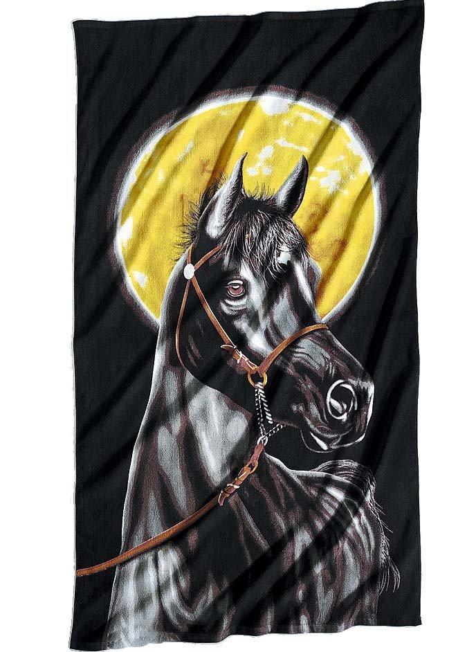 Linge de plage «Pferd»