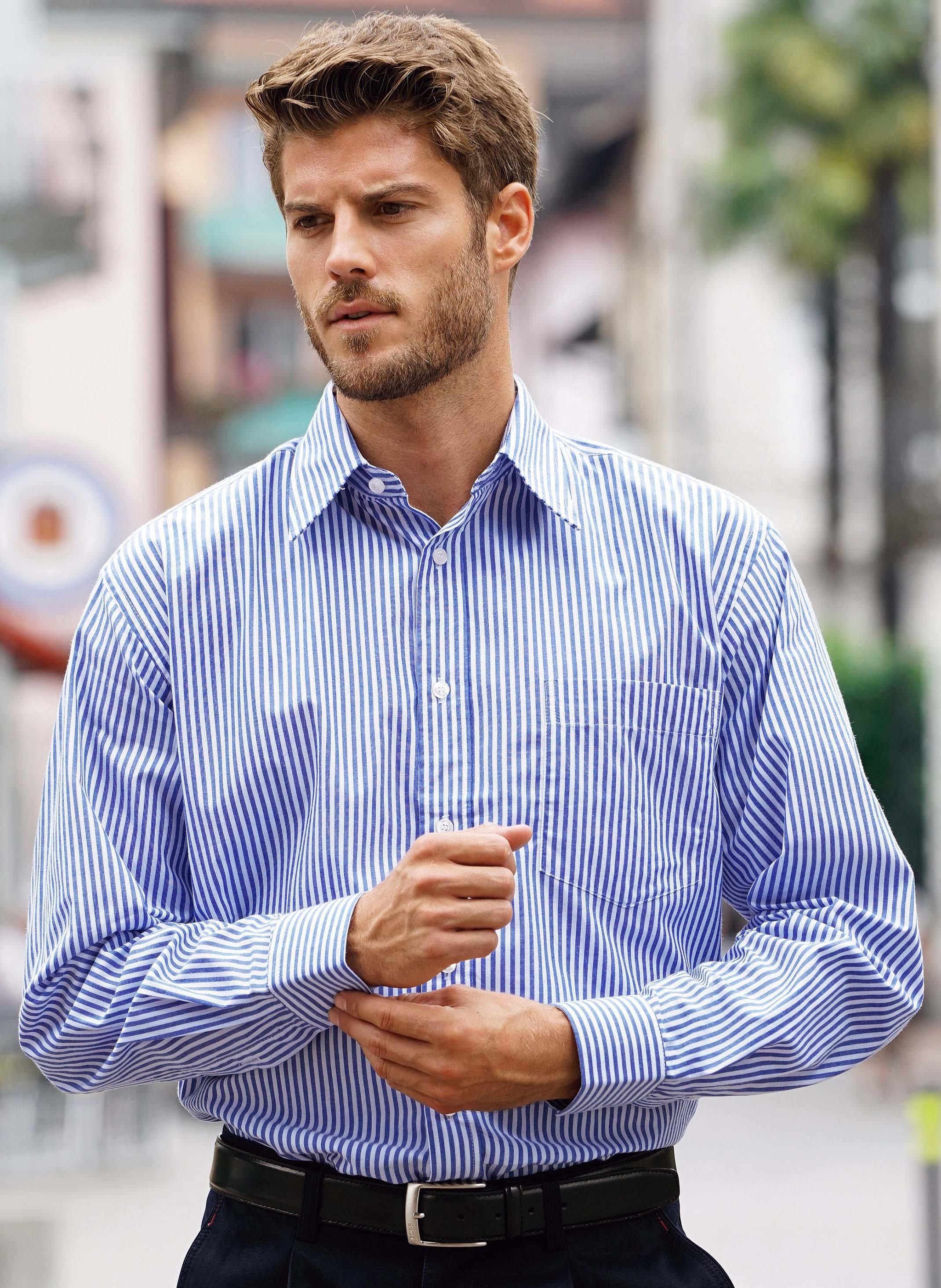 Chemise à manches longues Business