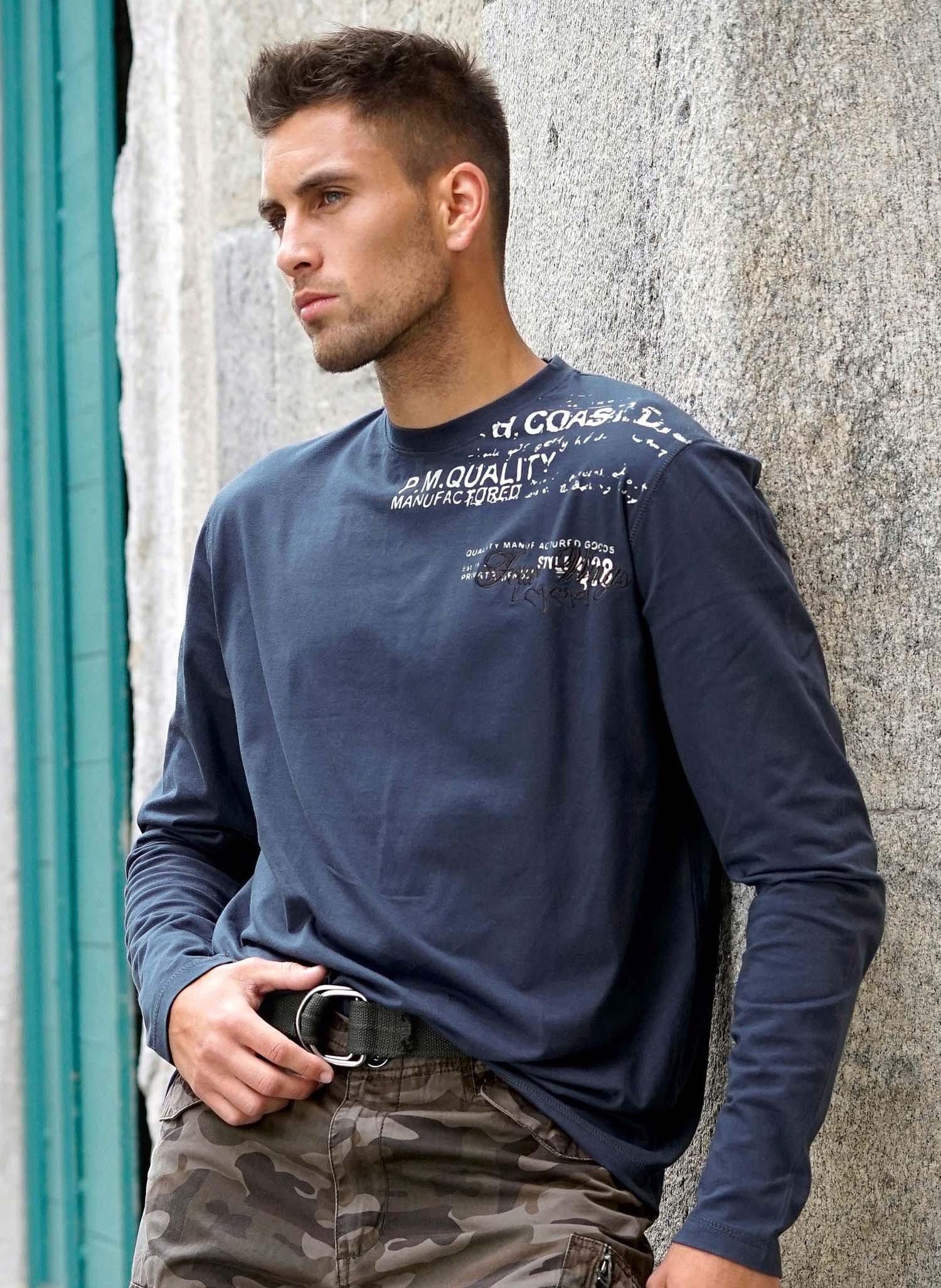 H-LA-Shirt,Rücken-Pr.indigobl. L - 1 - Ronja.ch