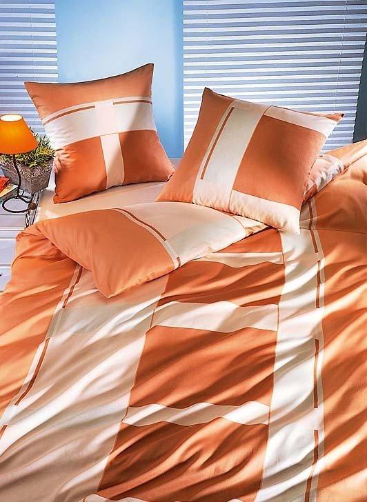 "S-Duvet""Kansas""160x210 abricot"