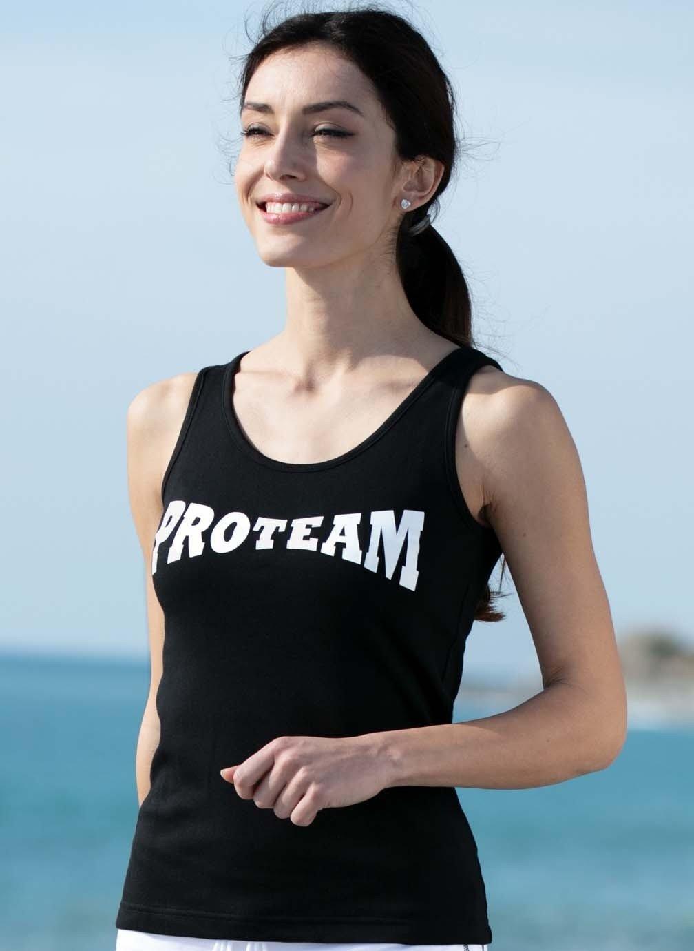 "D-SM-Shirt""PROTEAM""noir"
