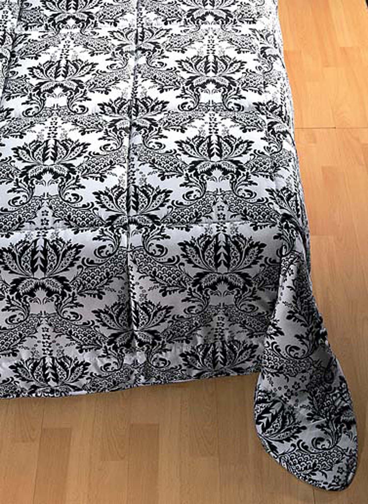 Bettüberwurf schw/wei 150x200 - 1 - Ronja.ch