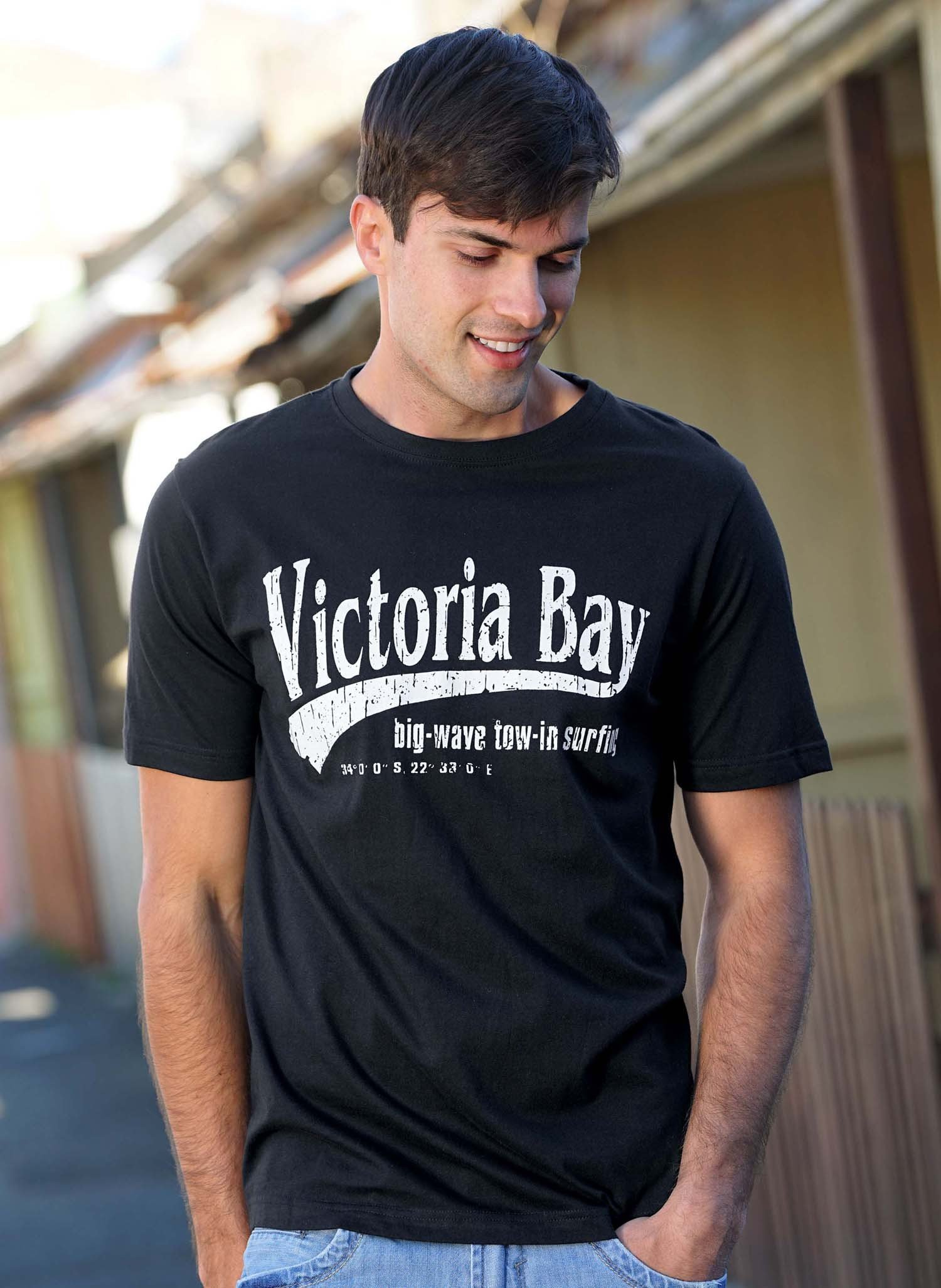 "H-KA-Shirt""Victory-Bay""schwarz L 010 - 3 - Ronja.ch"