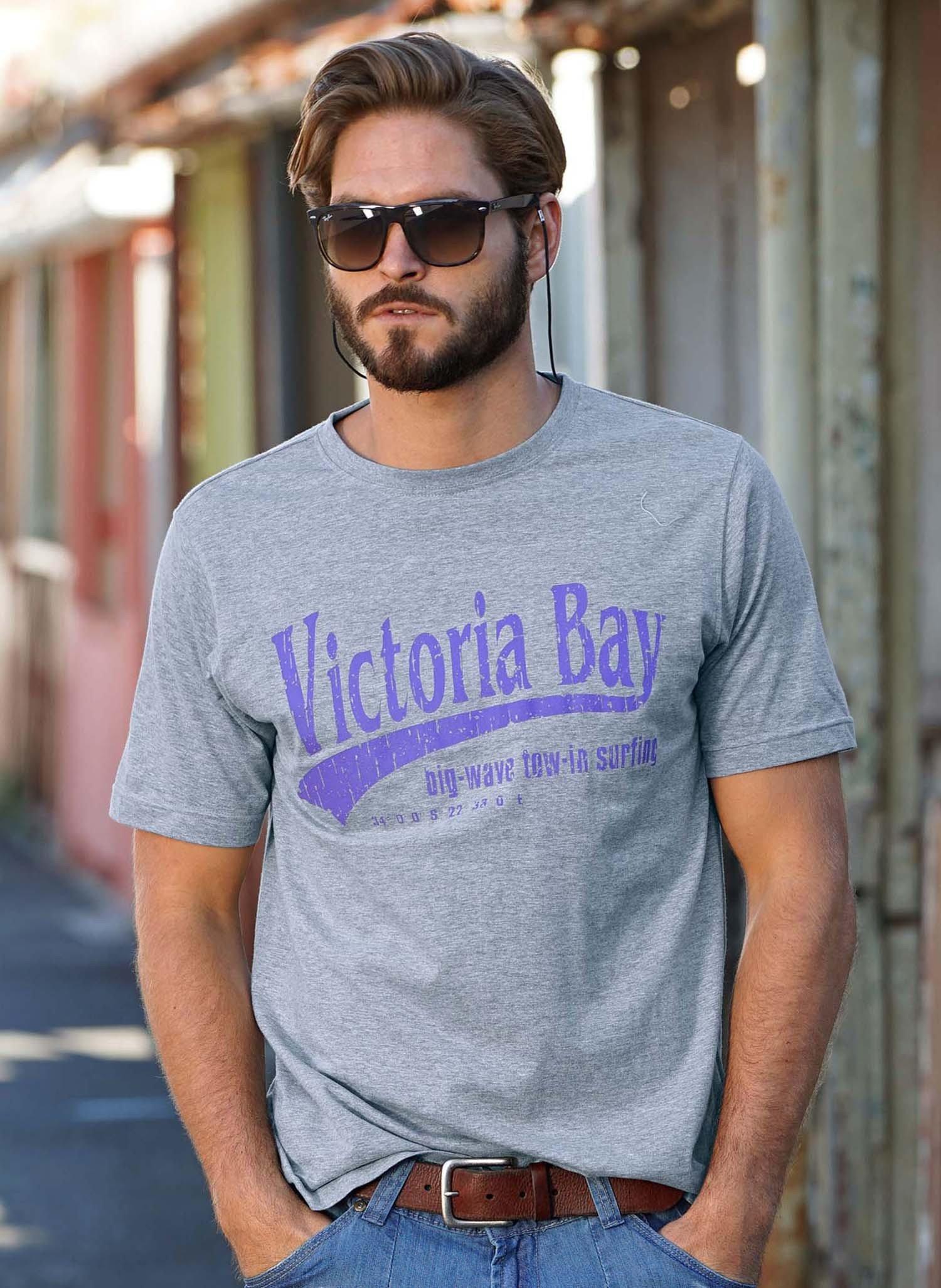 """H-KA-Shirt""""Victory-Bay""""grau m. L 004 - 2 - Ronja.ch"""