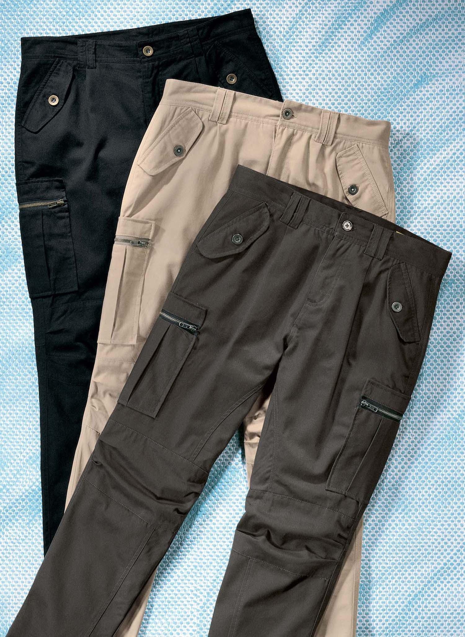 D-Outdoor-Hose,Taschen beige 34 008 - 2 - Ronja.ch