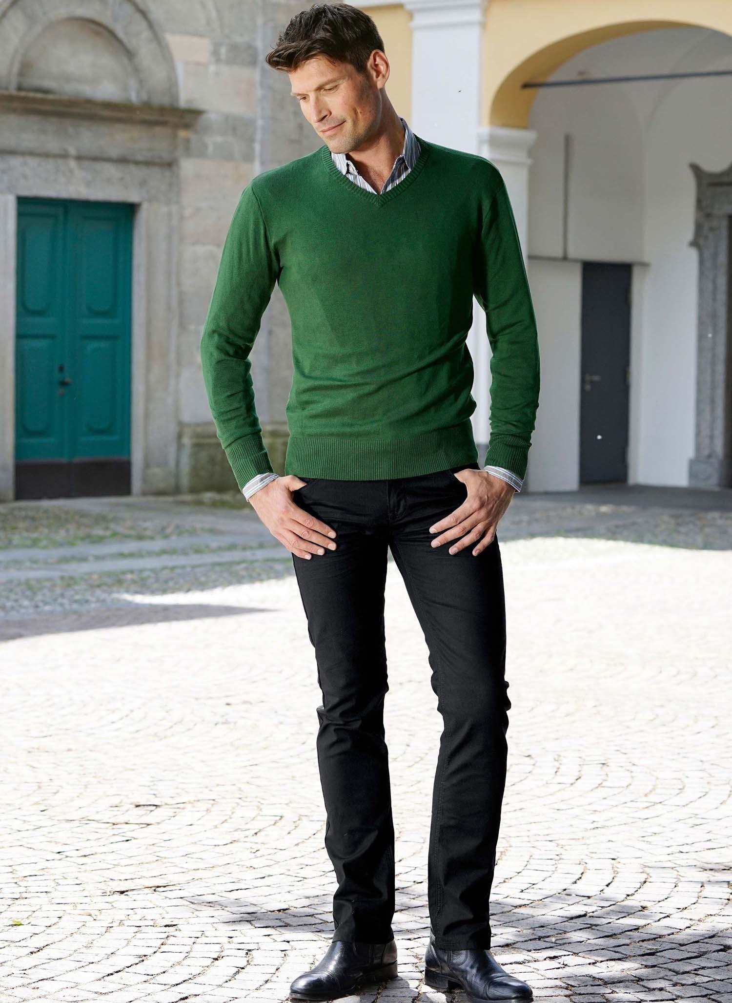 H-5P-Colors-Jeans schwarz 38 010 - 1 - Ronja.ch