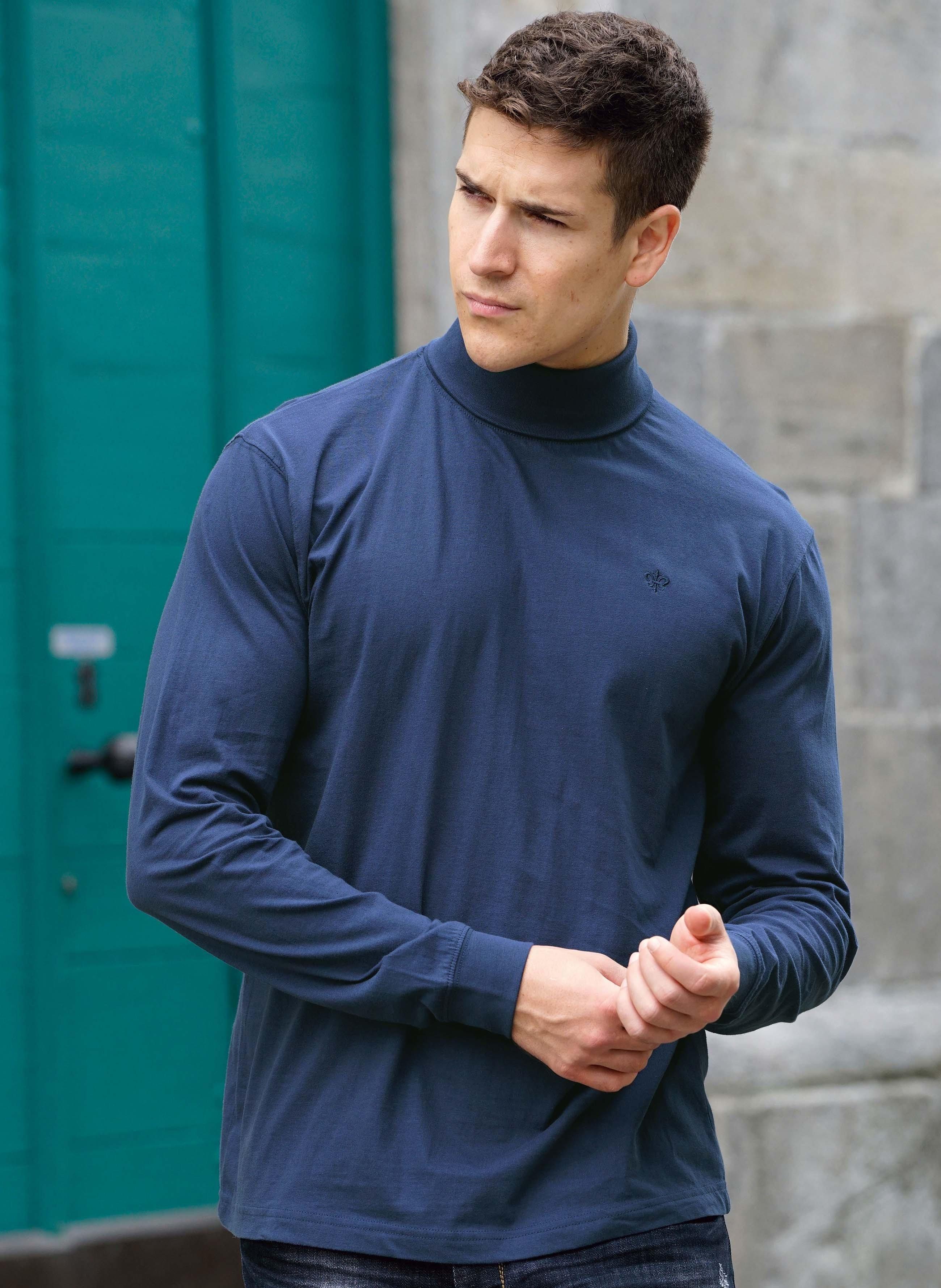 Shirt à col roulé