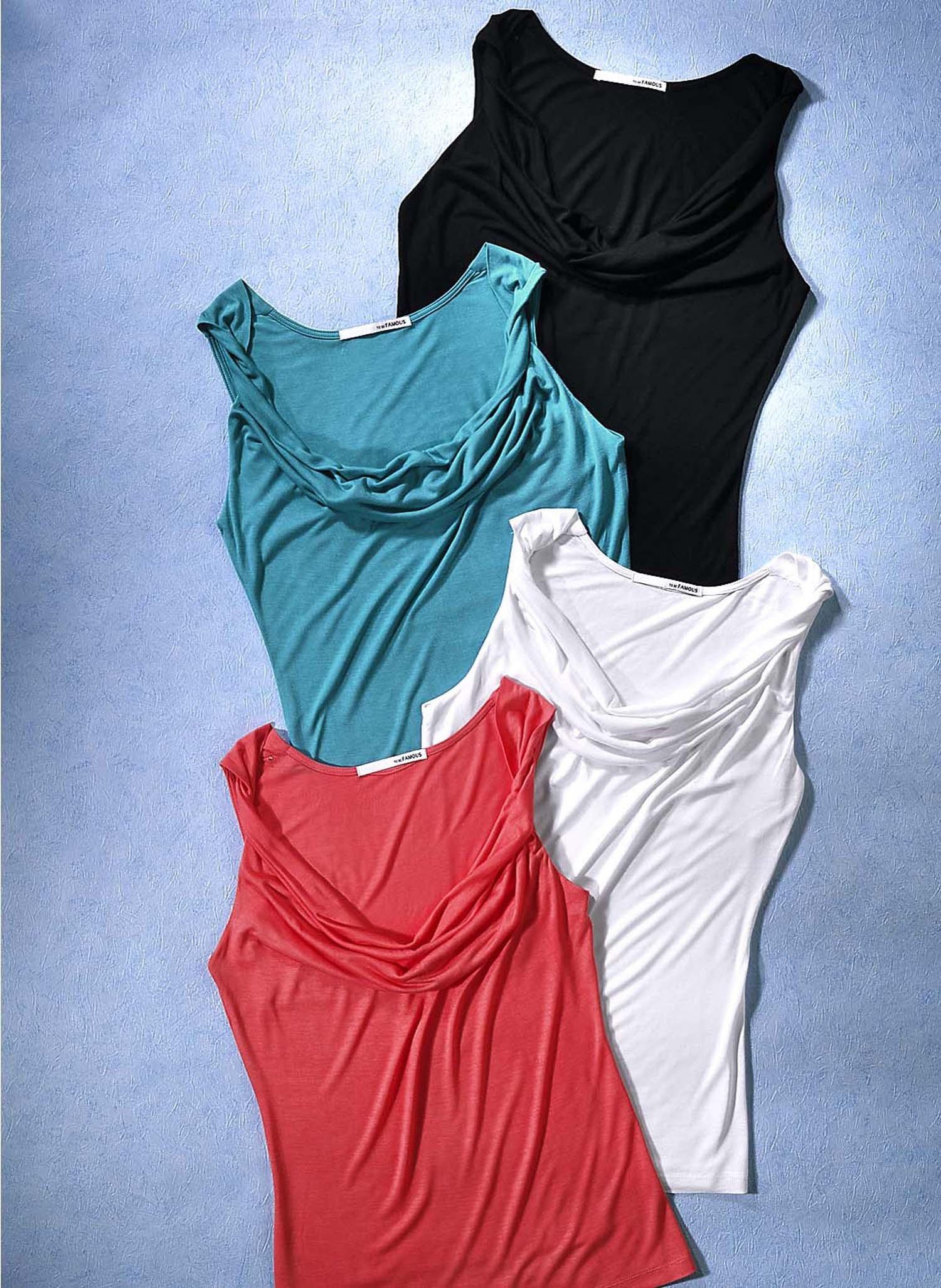 """D-AL-Shirt """"Wasserfall""""schwarz L 010 - 2 - Ronja.ch"""