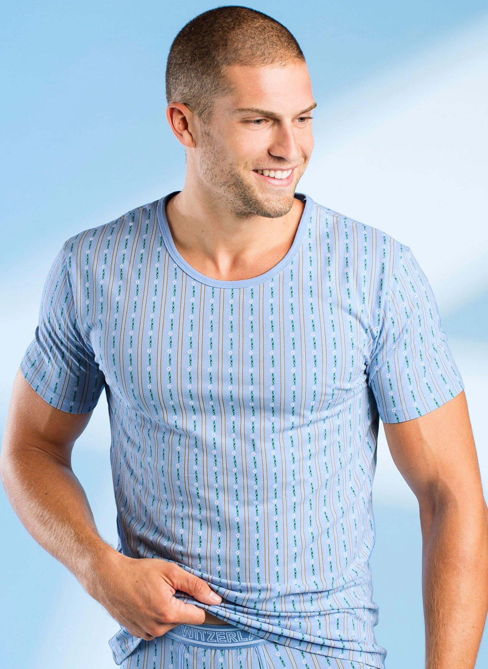 H-KA-Shirt,Edelweiss,2Set,ciel L 051 - 1 - Ronja.ch