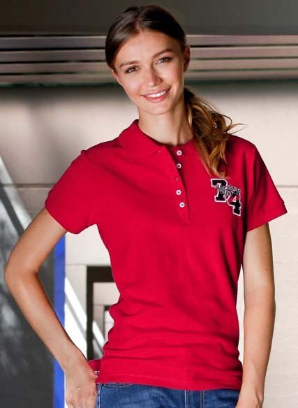 Shirt polo piqué «Nr. 74»