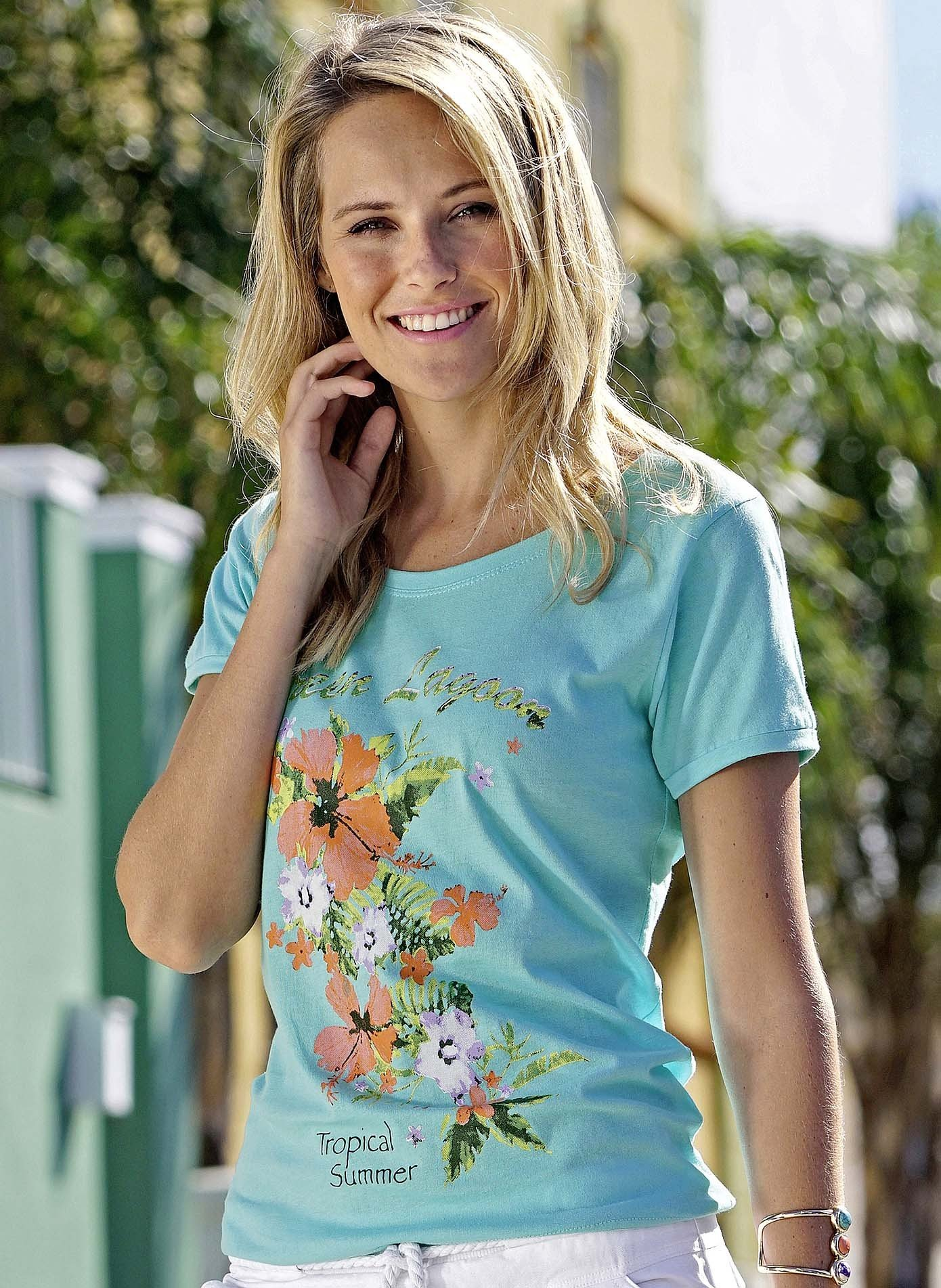 Shirt à manches courtes «Green Lagoon»