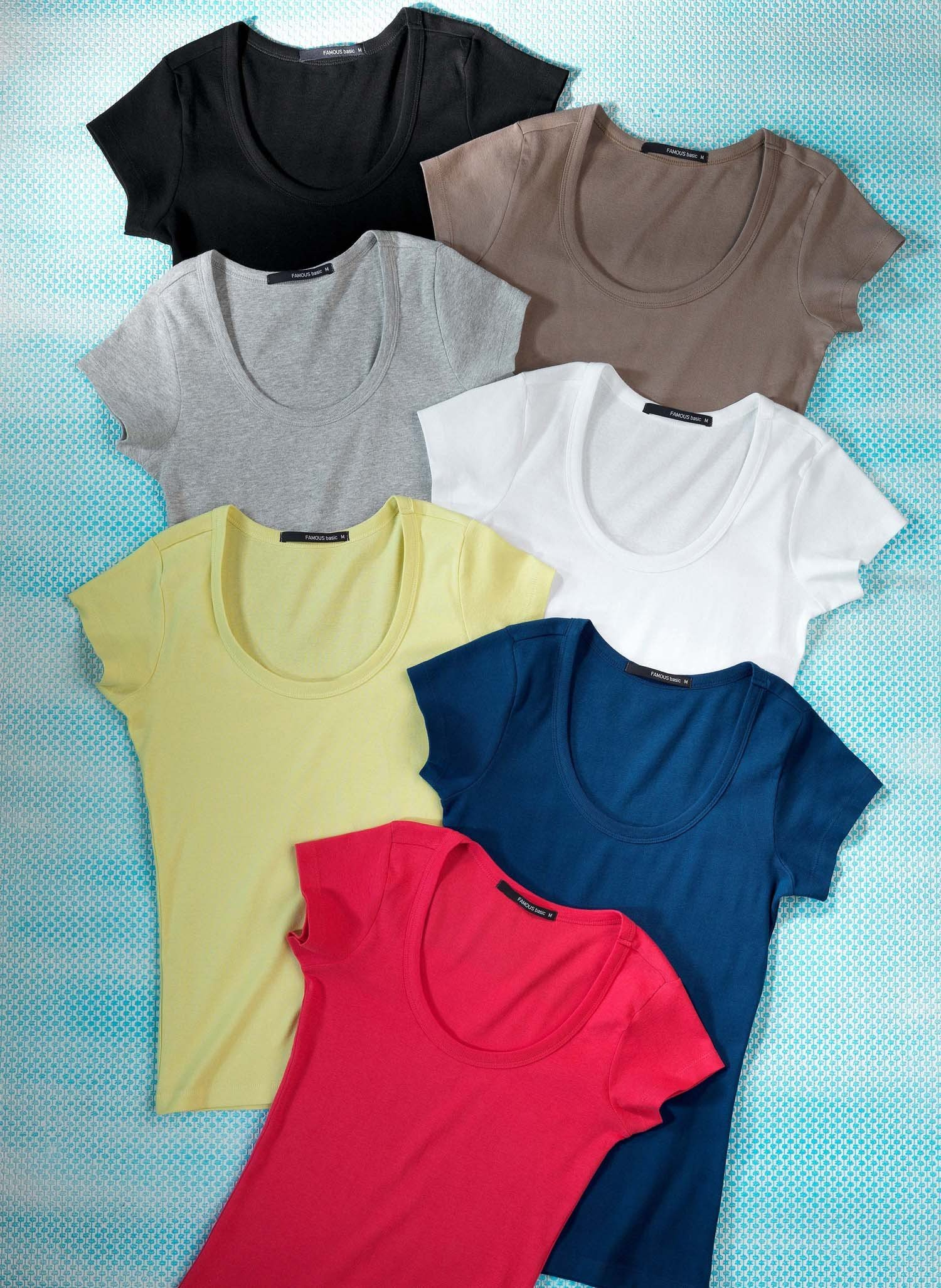 D-KA-Shirt,Baumwolle olive L 086 - 1 - Ronja.ch