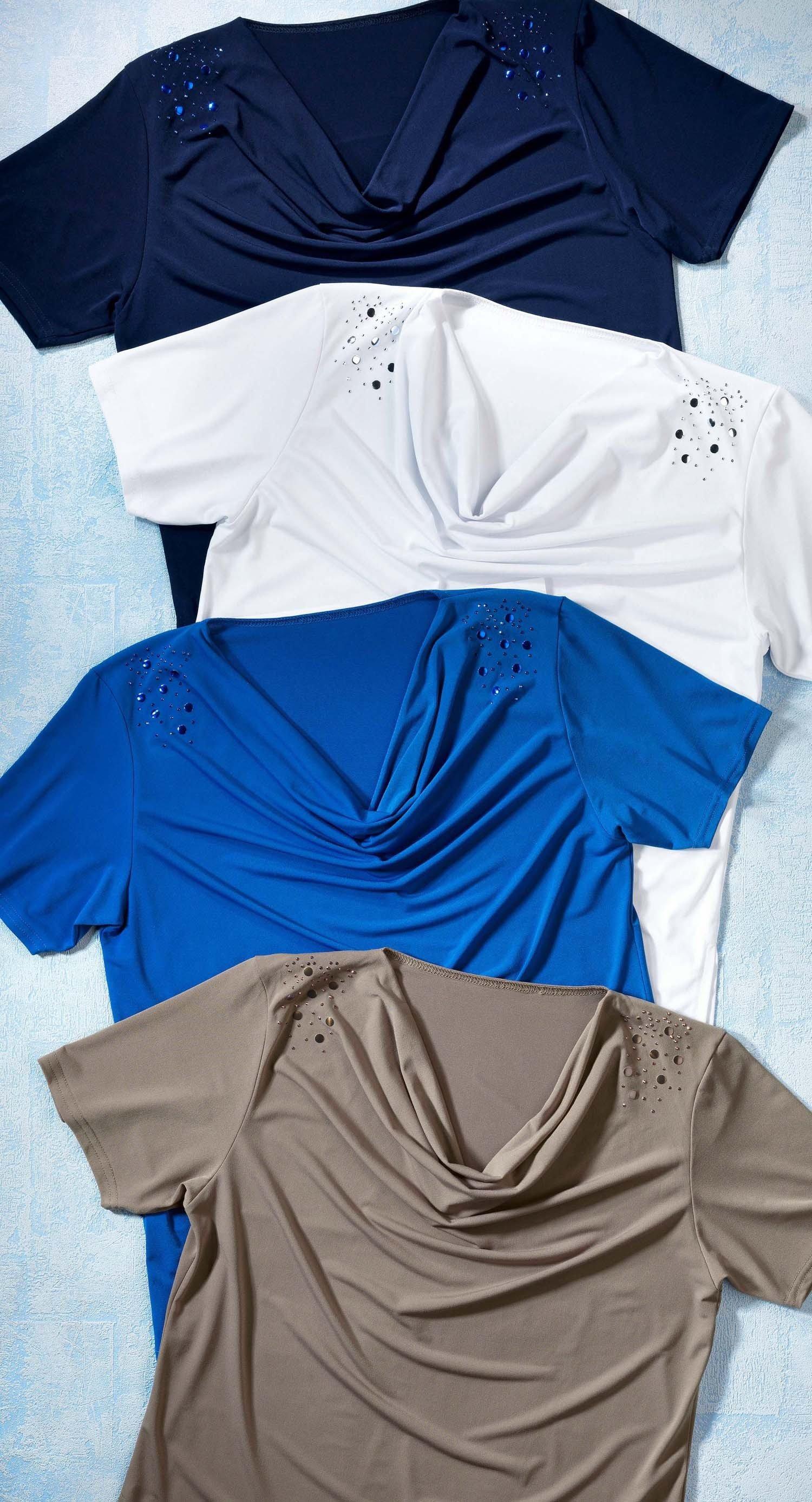 """D-KA-Shirt""""Wasserfall""""marine XXL 053 - 2 - Ronja.ch"""