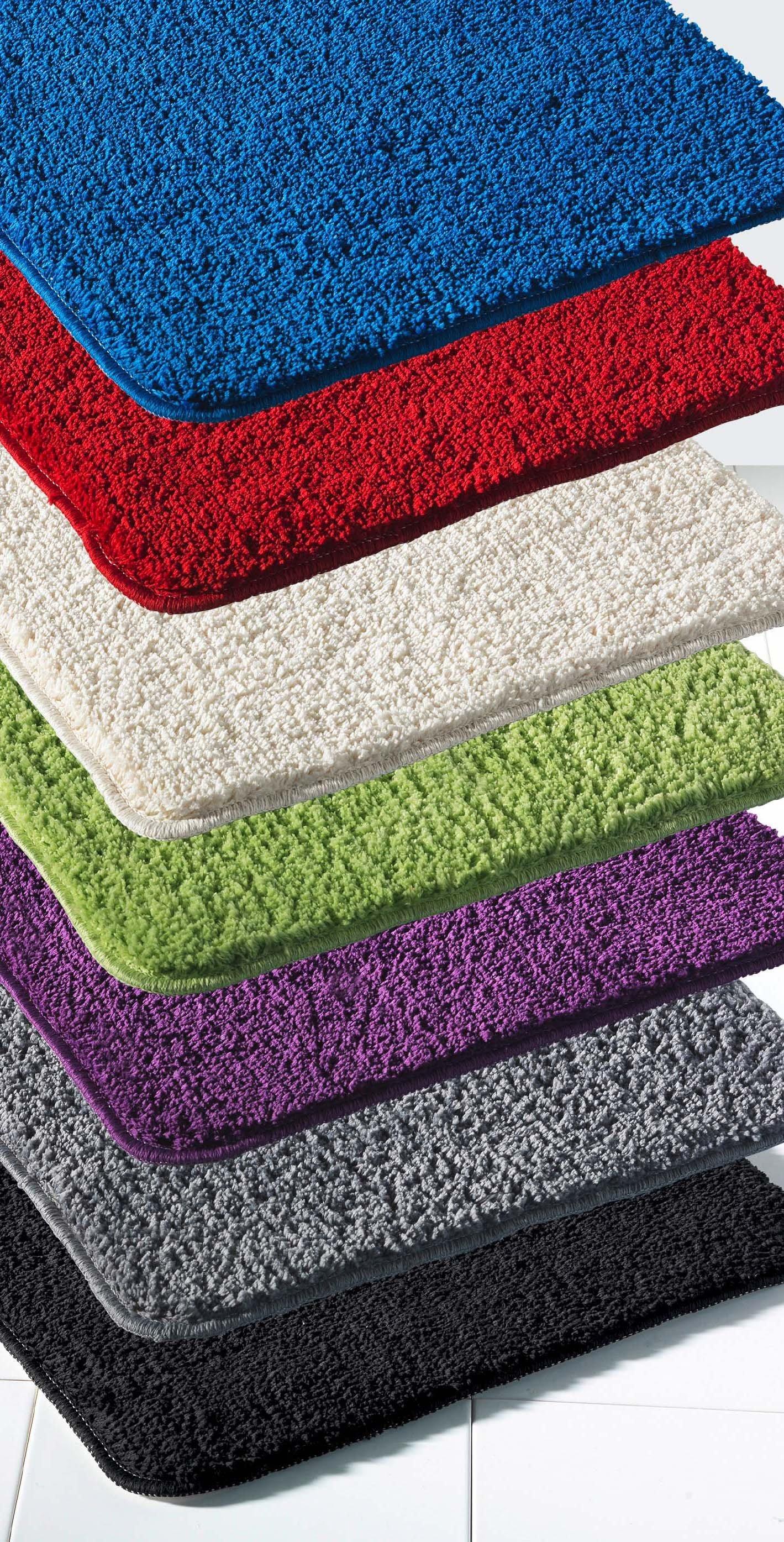 tapis pour bainwc teinte unie - Tapis Habitat