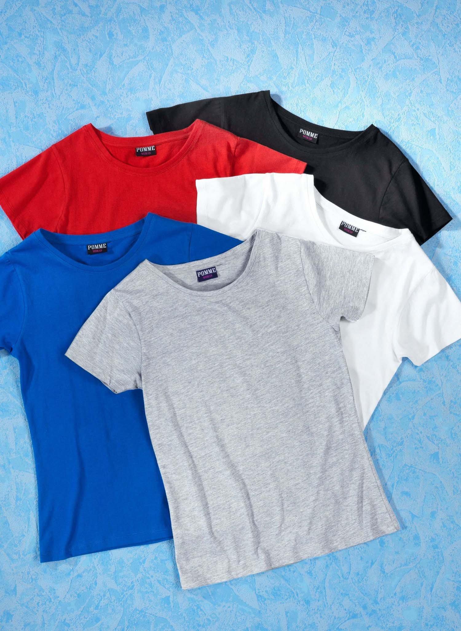 D-KA-Shirt,uni schwarz S 010 - 1 - Ronja.ch