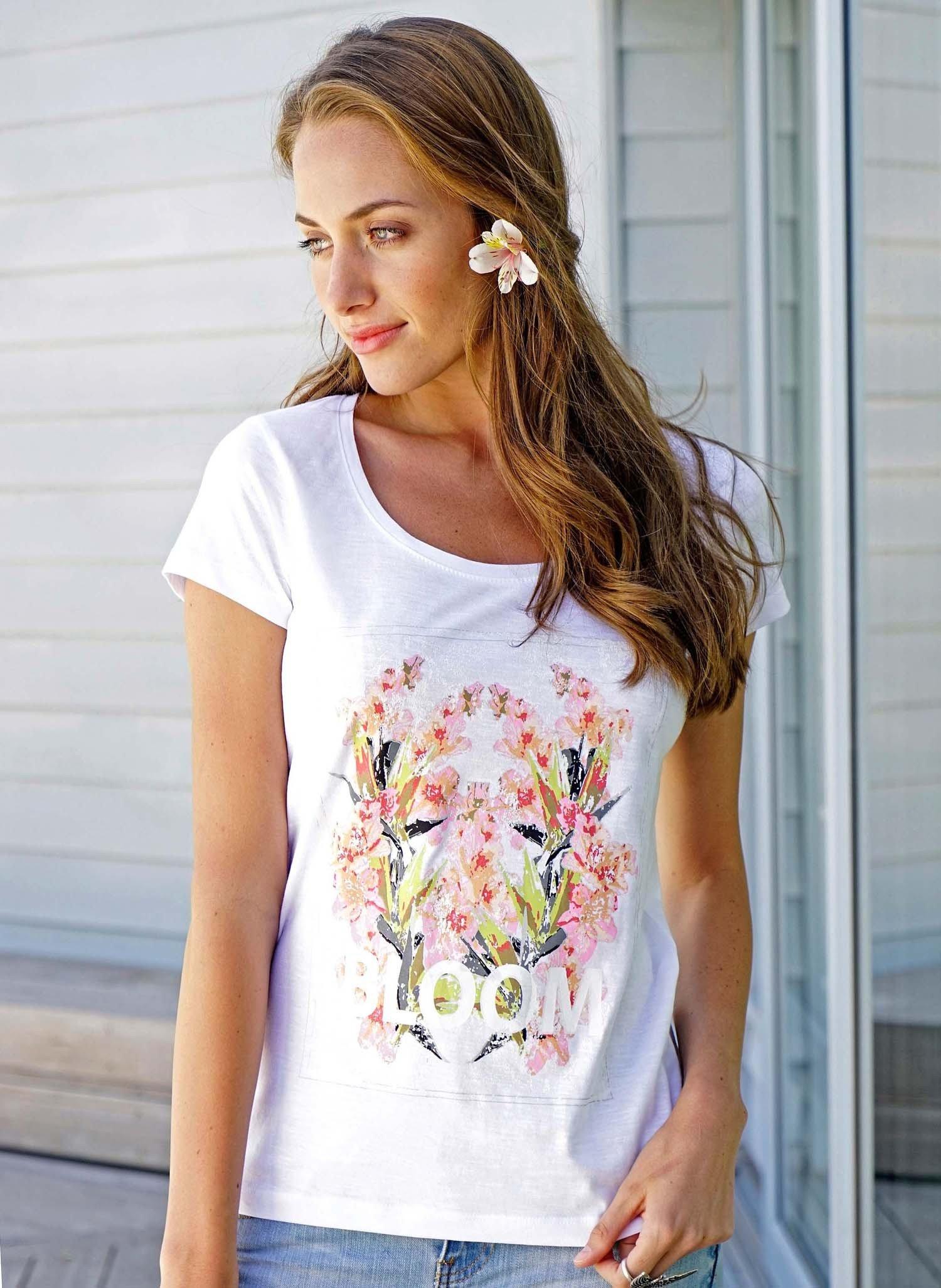 D-KA-Shirt,Print weiss L 001 - 1 - Ronja.ch