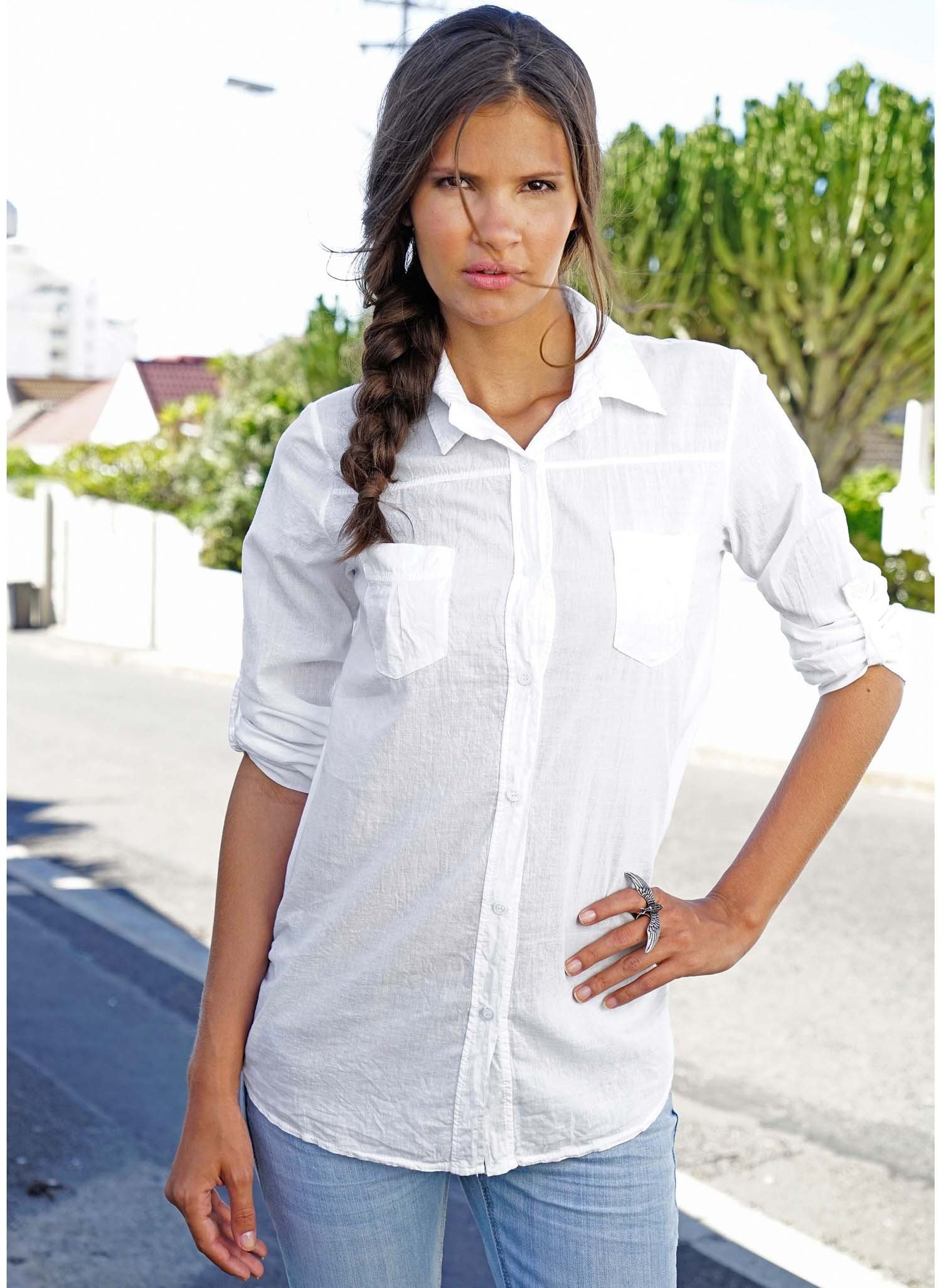 D-Long-Bluse,Lasche weiss L 001 - 3 - Ronja.ch