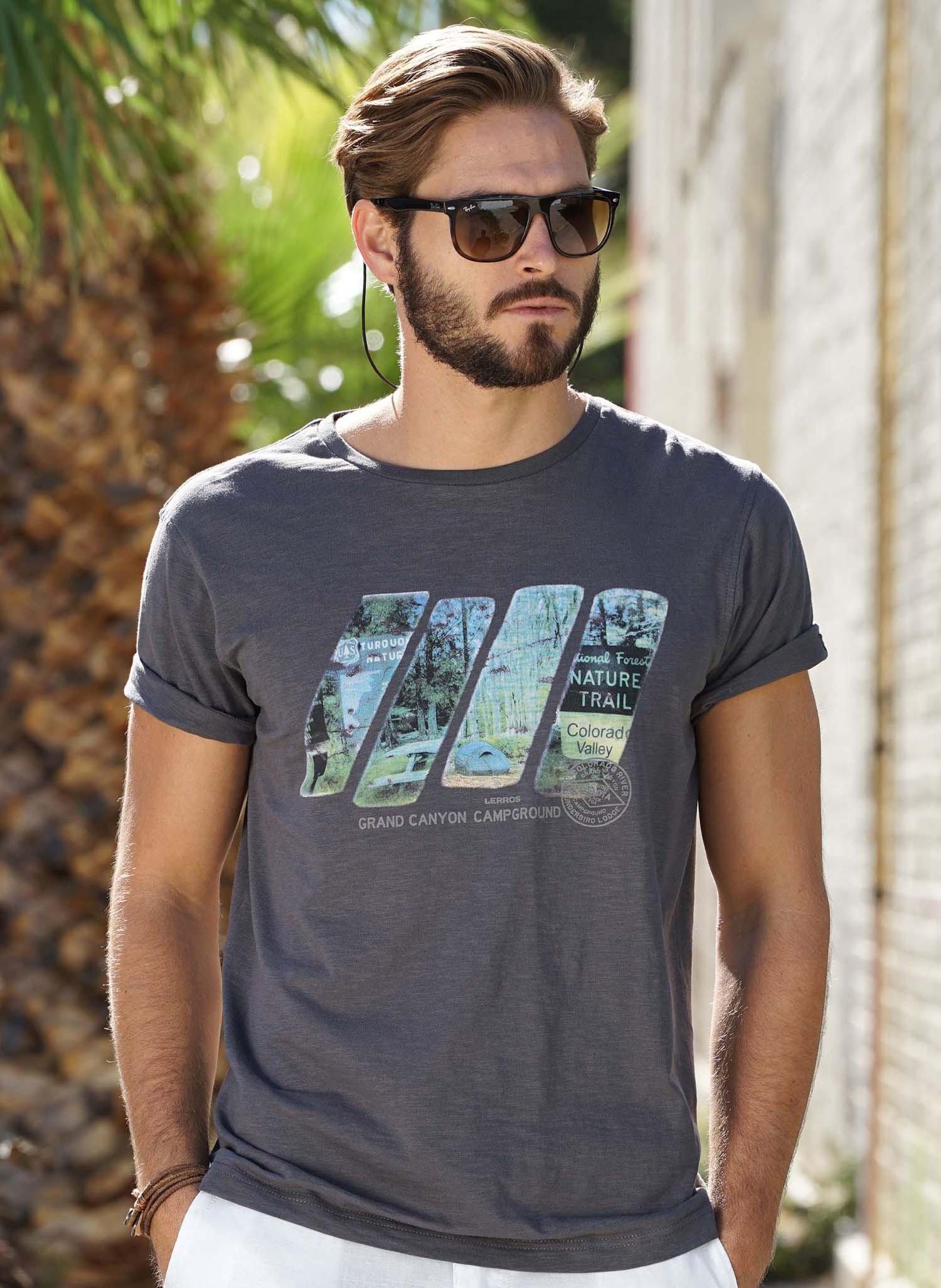 H-KA-Shirt,Flammgarn taupe M 066 - 1 - Ronja.ch