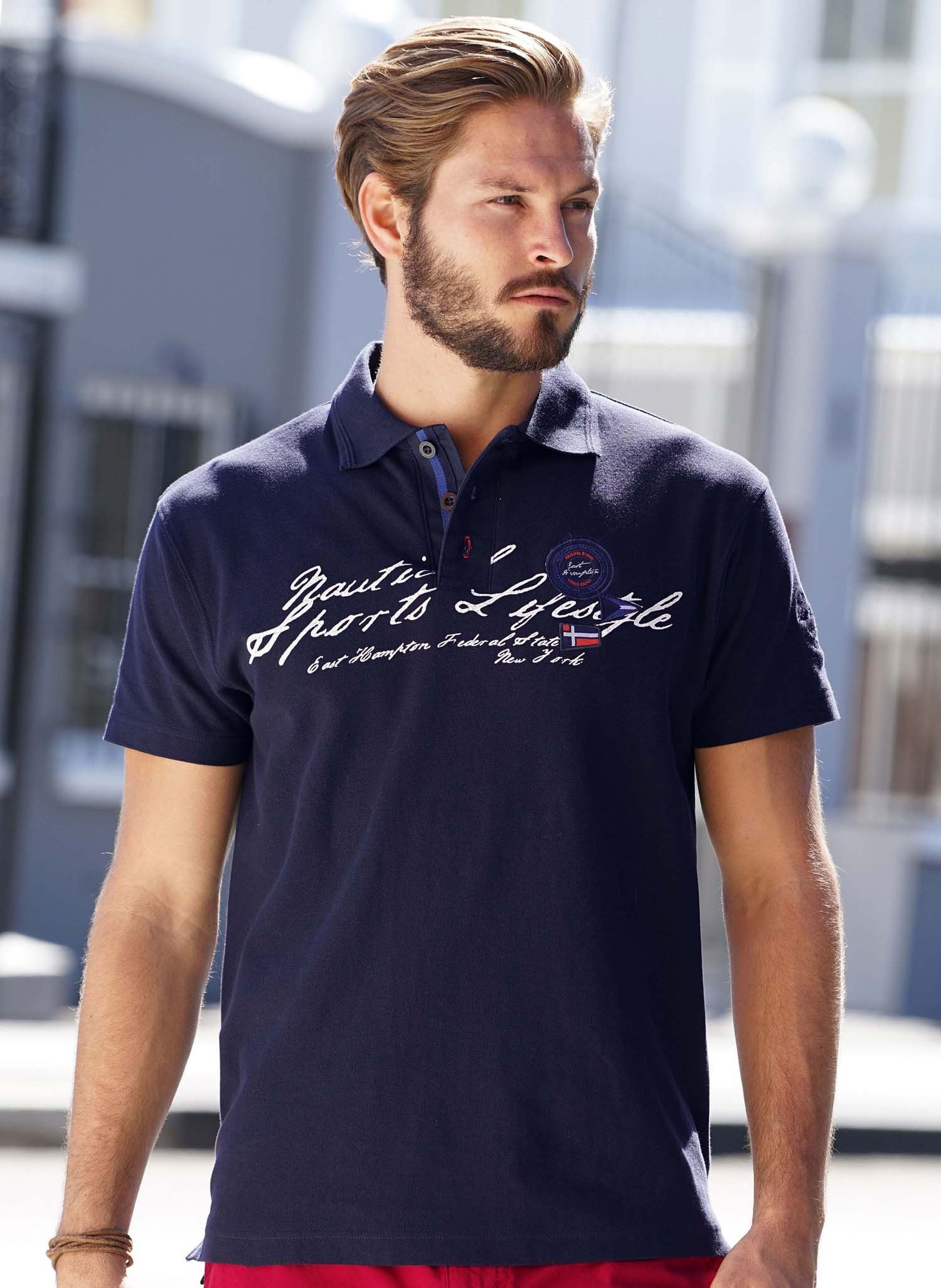 H-KA-Polo-Shirt,Label marine M 053 - 1 - Ronja.ch