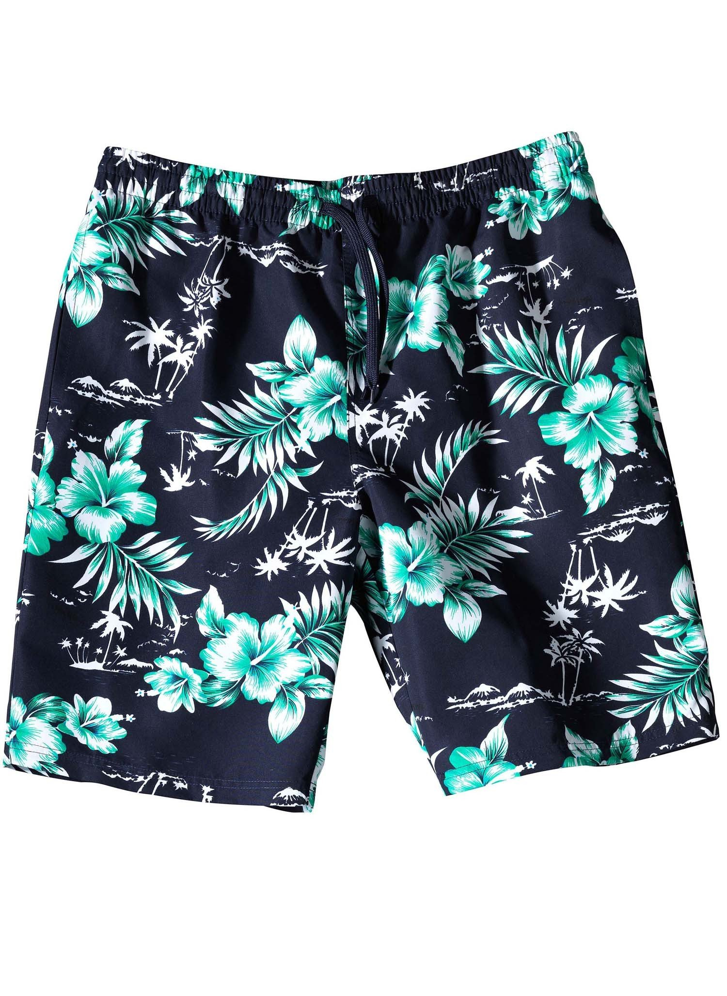 H-Bade-Shorts,HAWAII grün L 059 - 2 - Ronja.ch