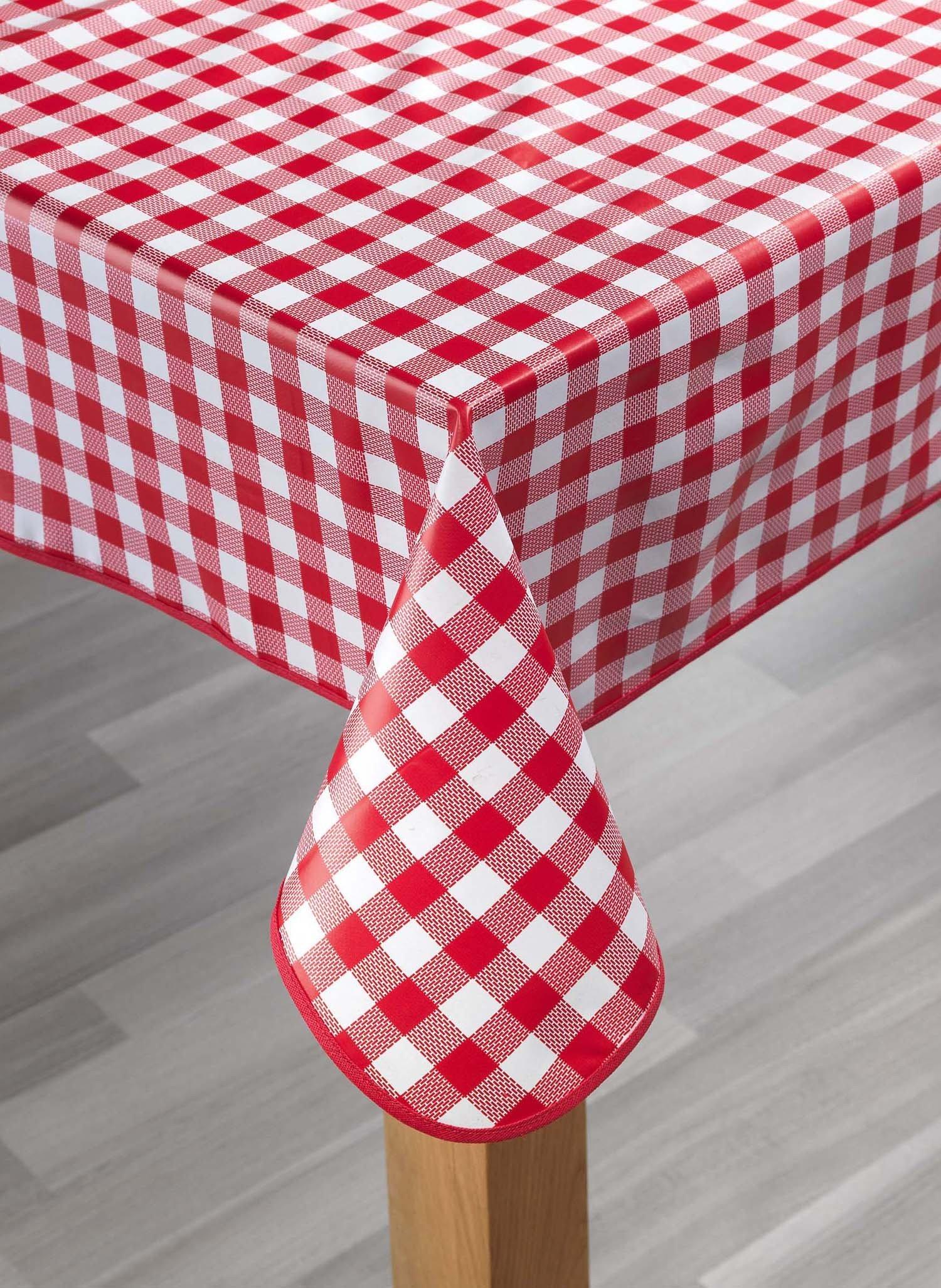 Tischdecke,Kölsch rot 140x180 - 1 - Ronja.ch