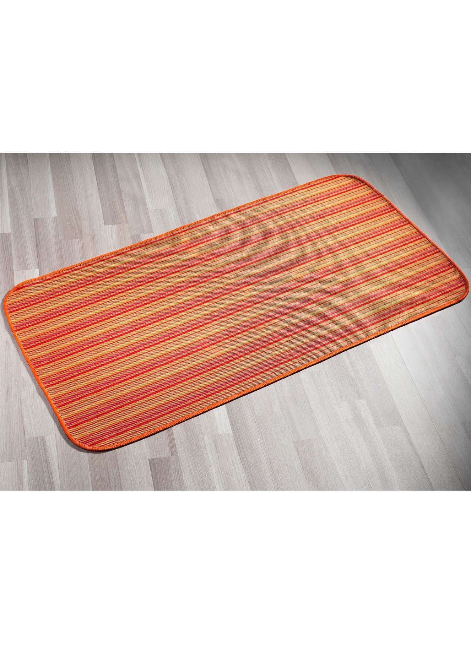 Finest tapis de cuisine orange with tapis de cuisine orange for Tapis de cuisine couleur orange