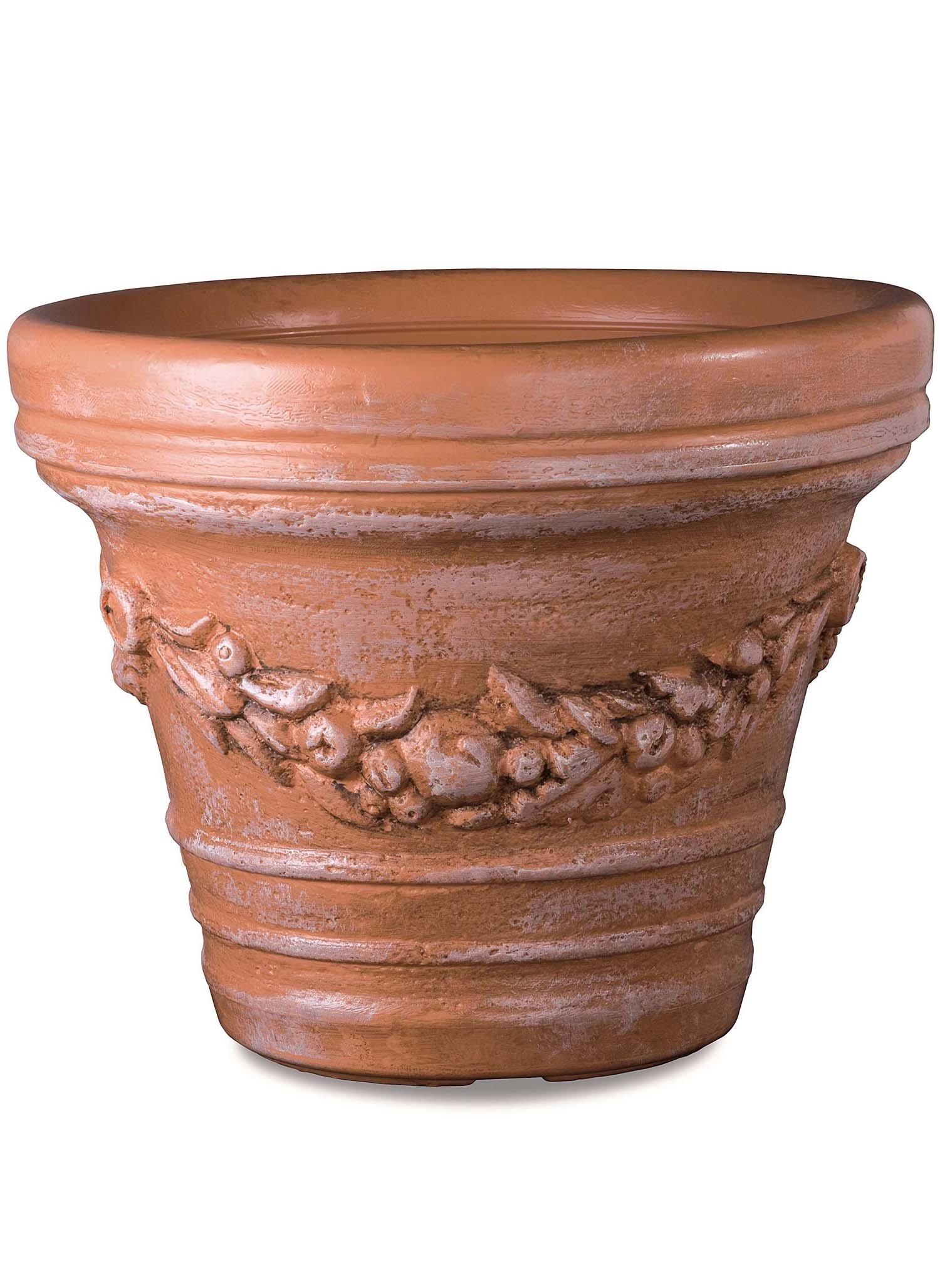 Blumen-Topf,antik 29cm - 2 - Ronja.ch