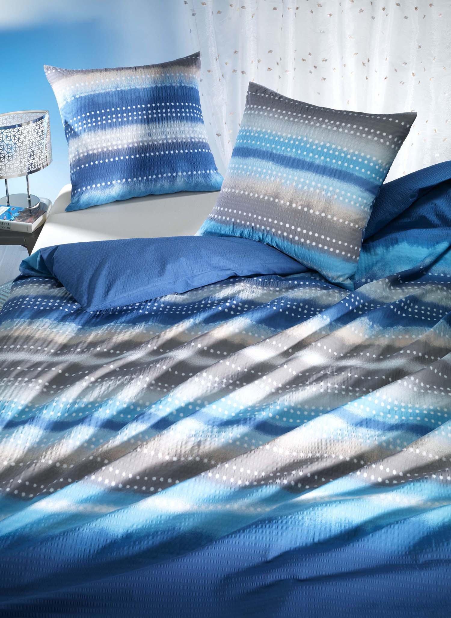 "SES-Kissen""ALINA""50x70cm blau - 2 - Ronja.ch"