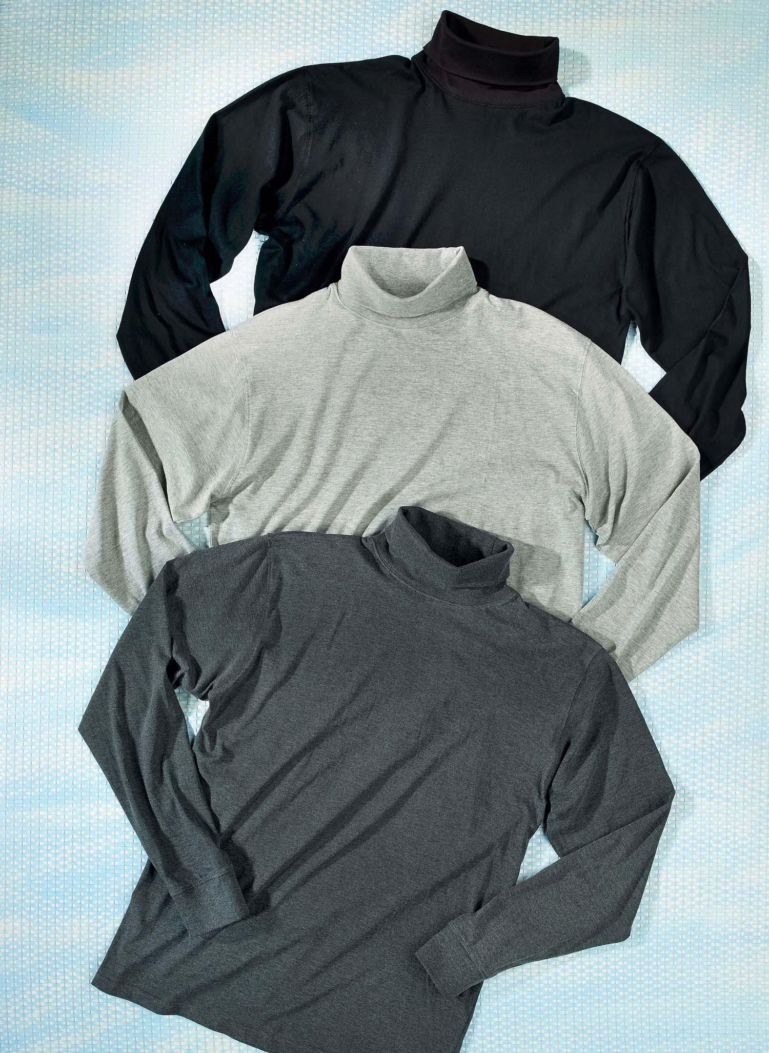 H-LA-Rolli-Shirt schwarz L 010 - 2 - Ronja.ch