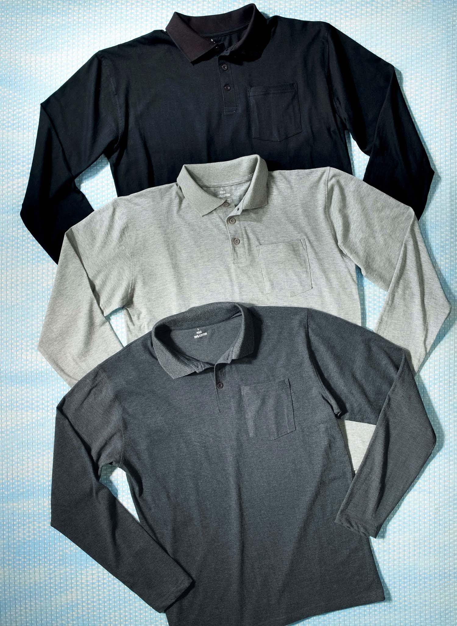 H-LA-Polo-Shirt schwarz L 010 - 2 - Ronja.ch