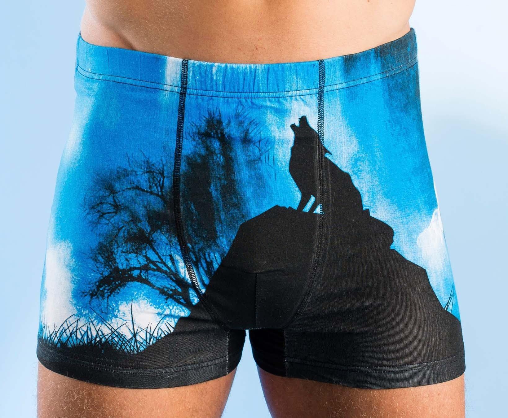 Boxer pour hommes «Loup»