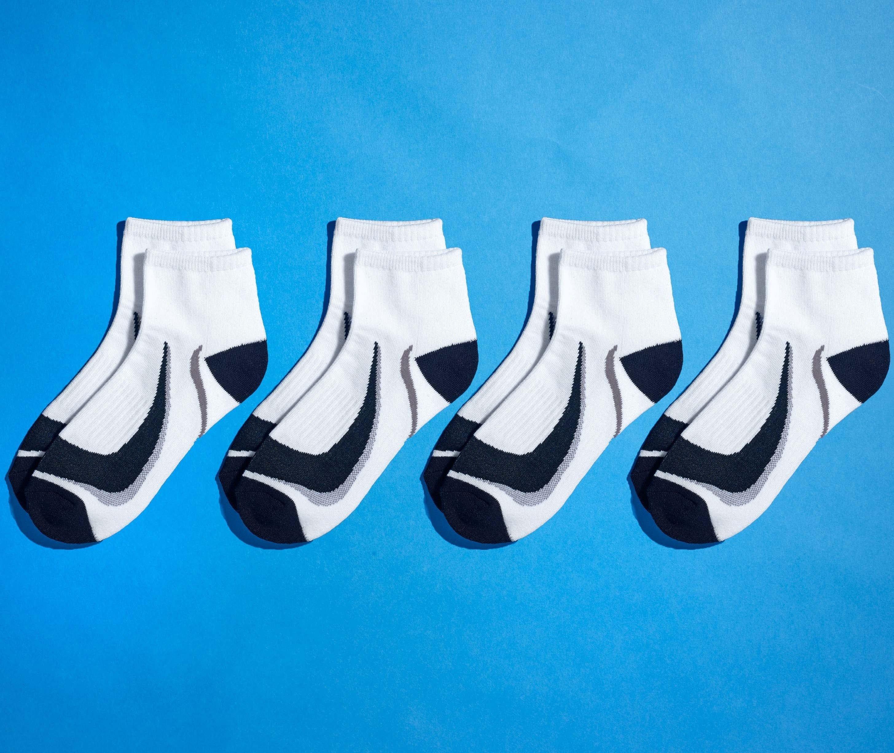 U-Sneakers-Sport,4p.noir/blan