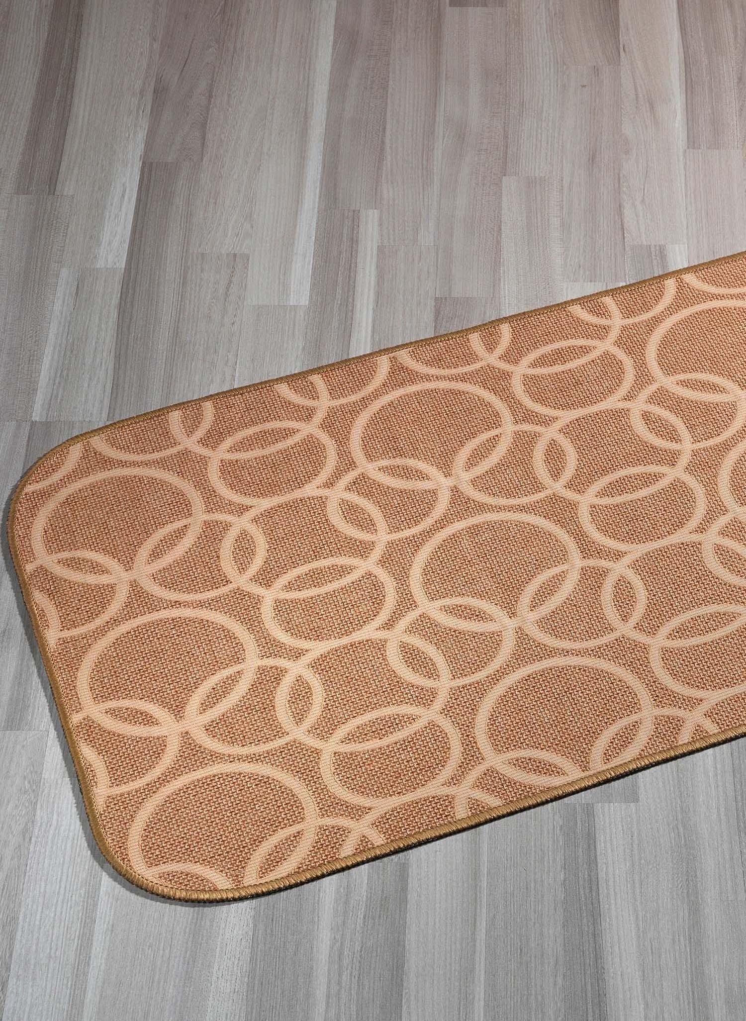 "Teppich""RINGE""beige 57x115 - 1 - Ronja.ch"