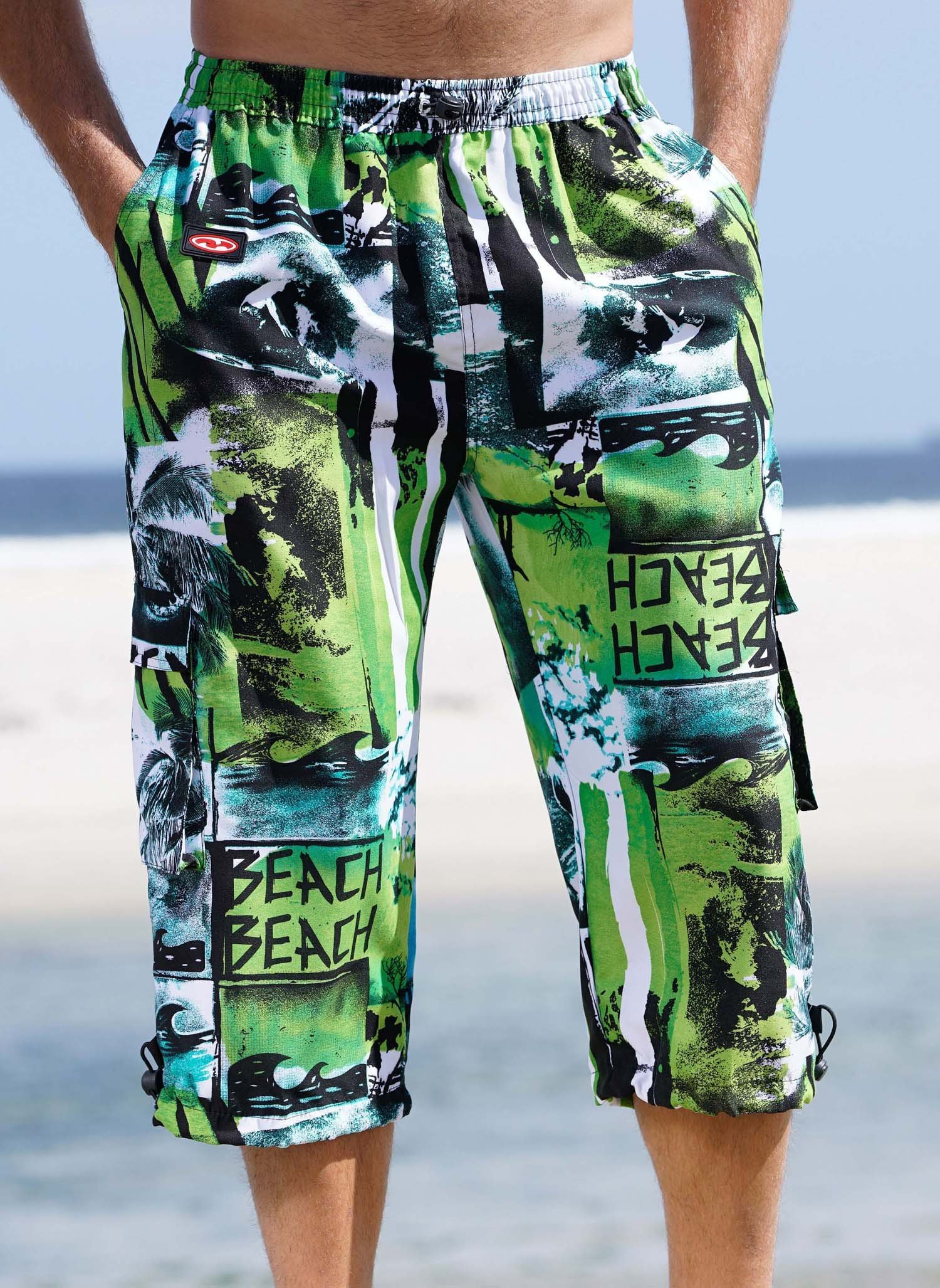 "H-Skater, ""BEACH""  grün L 059 - 1 - Ronja.ch"