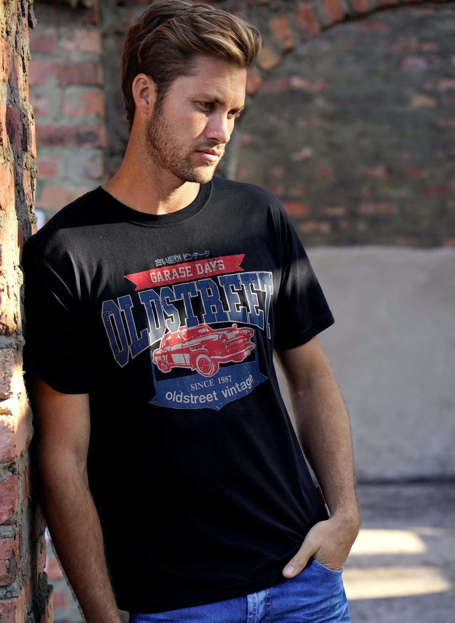 "H-KA-Shirt ""Cadillac"" schwarz L 010 - 1 - Ronja.ch"