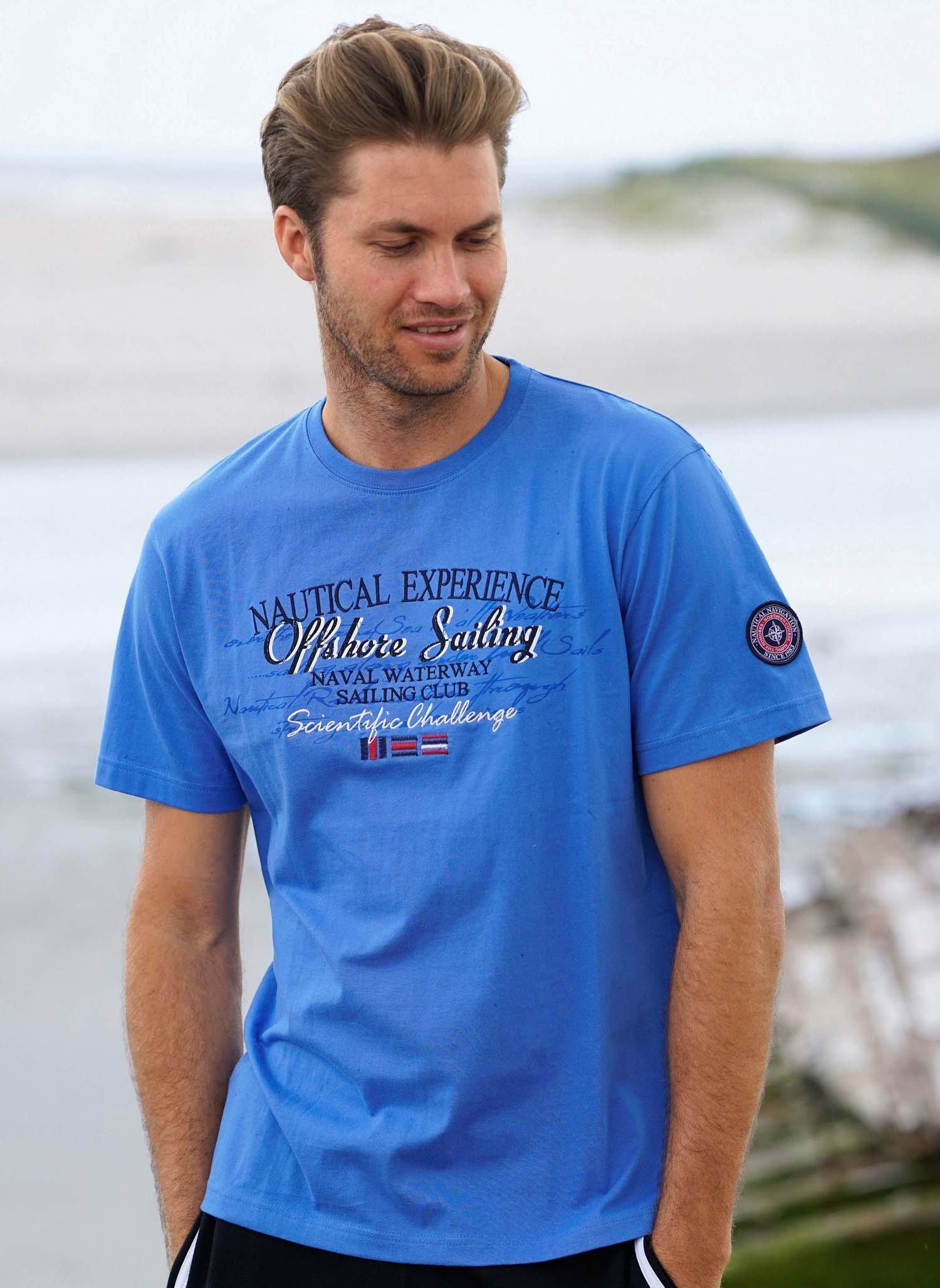 H-KA-Shirt, blau L 047 - 2 - Ronja.ch