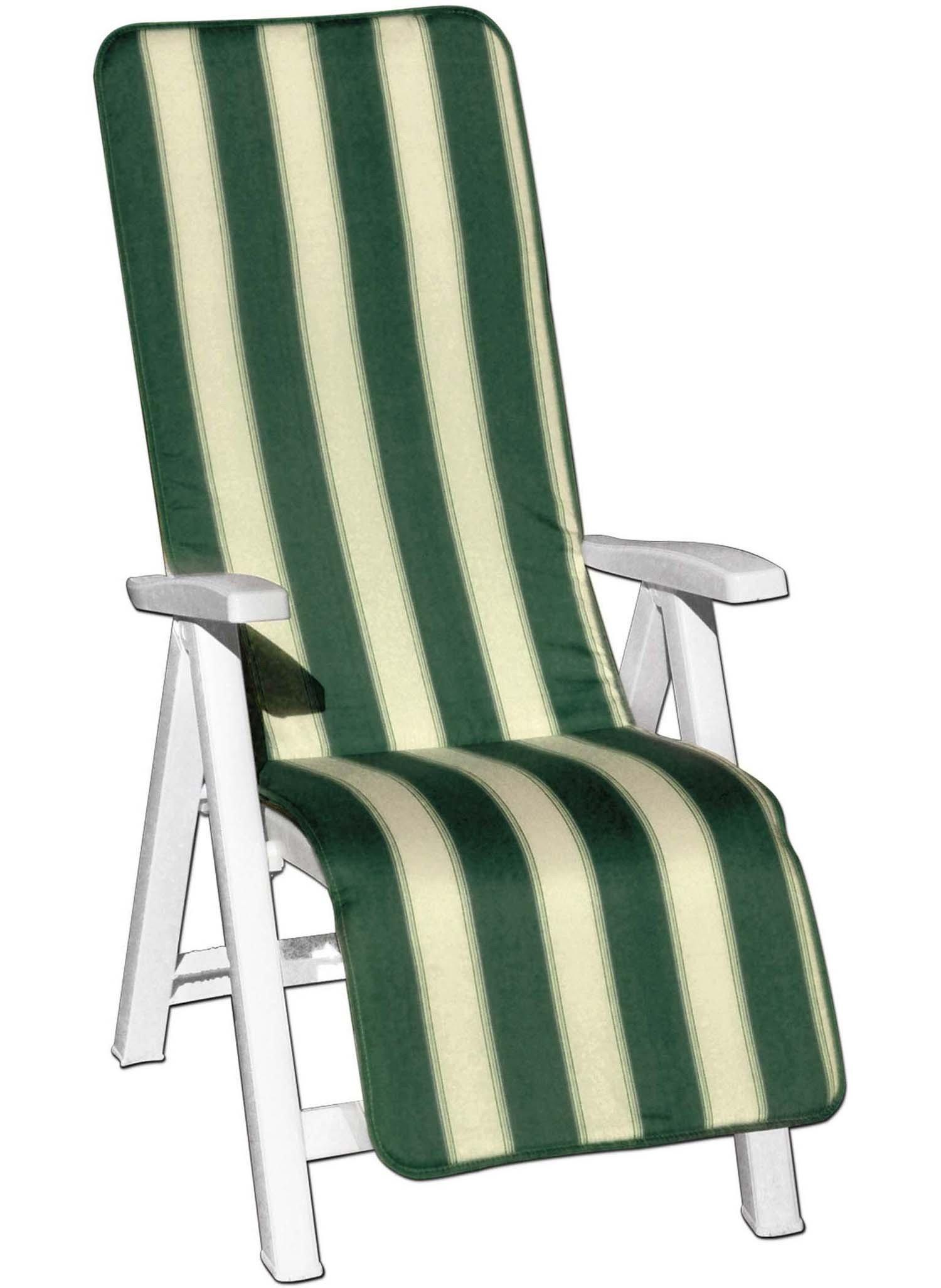 Polster für Liegestuhl grün - 1 - Ronja.ch