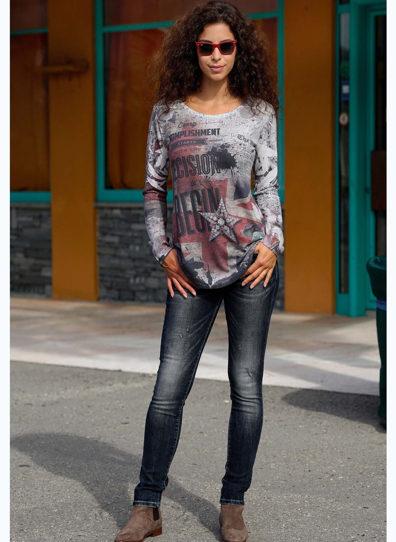D-LA-Top,Britisch, used-washed XL 149 - 2 - Ronja.ch