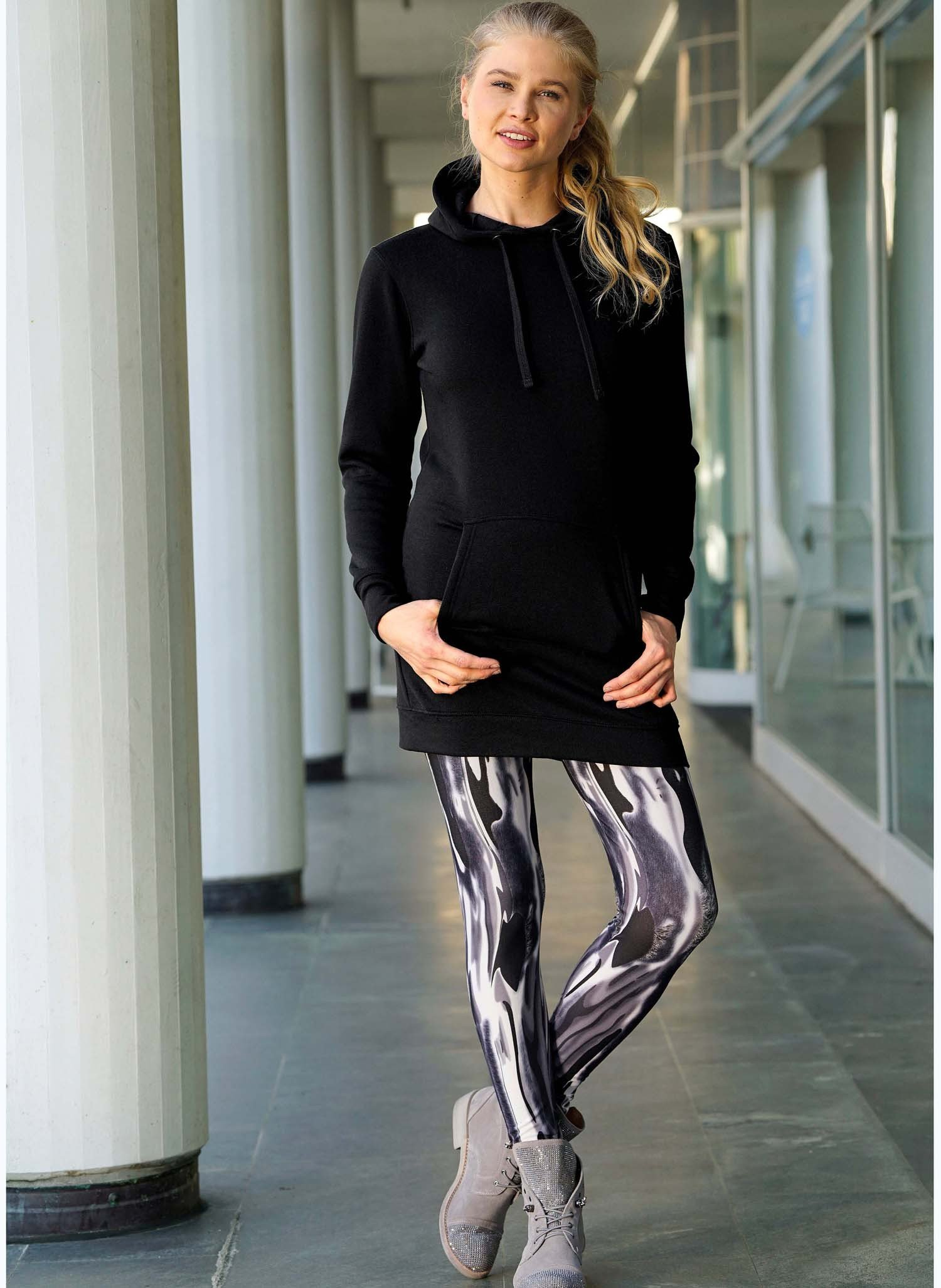 D-Leggings,Rosen multicolors XL 058 - 2 - Ronja.ch