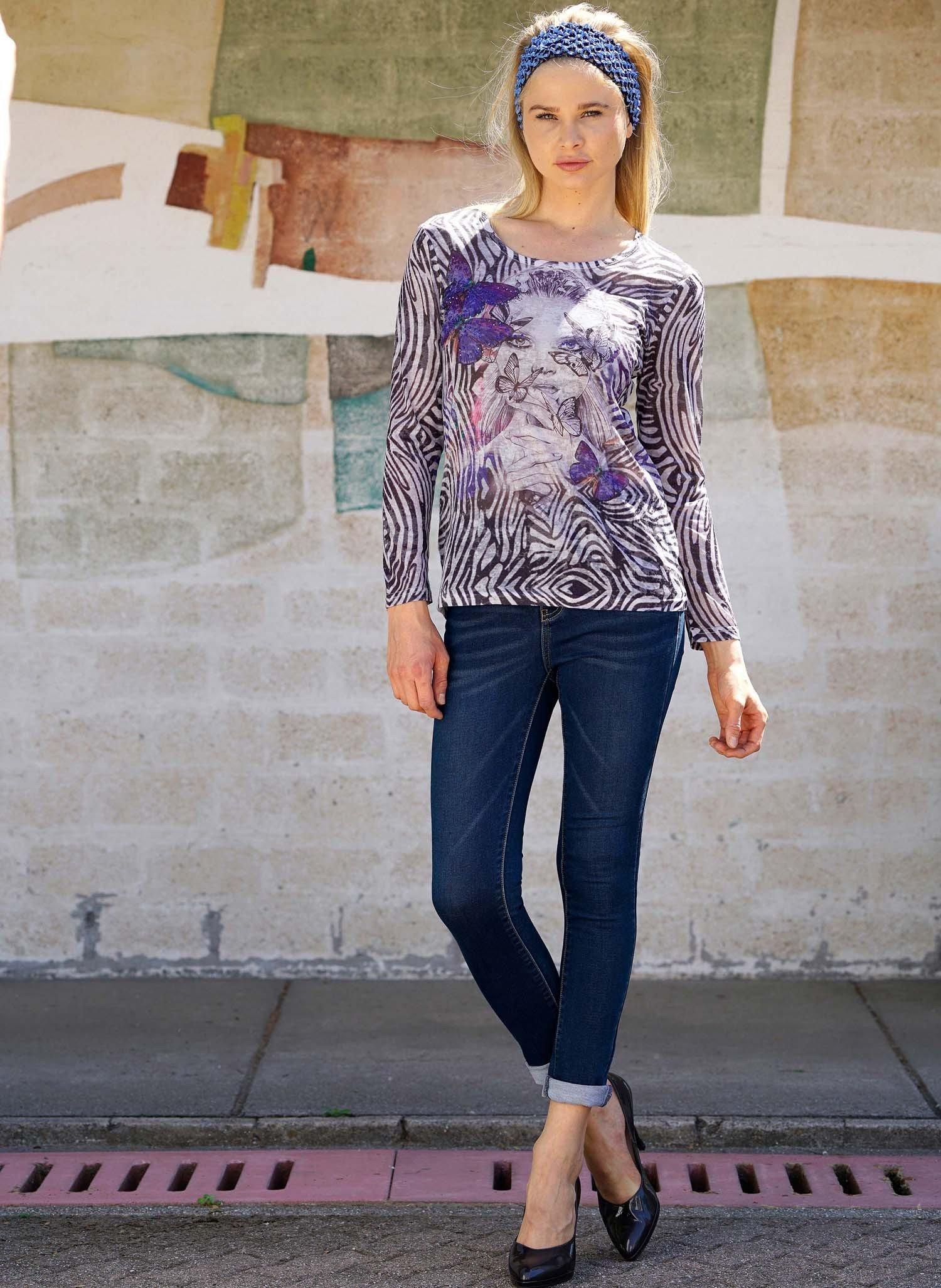 D-LA-Shirt,Girl/Schmetterling XL 058 - 2 - Ronja.ch